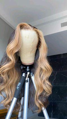 Black Girl Braided Hairstyles, Baddie Hairstyles, Slick Hairstyles, Curly Hair Styles, Natural Hair Styles, Dyed Natural Hair, Birthday Hair, Lace Hair, Hair Color Dark