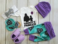 Daddy's Princess Star Wars baby girl coming home outfit Star Wars Baby Showe - Ideas of Star Wars Outfits - Daddy's Princess Star Wars baby girl coming home outfit Star Wars Baby Shower Star Wars Coming Home Outfit Newborn Baby Girl Gifts, Baby Girl Gift Sets, Baby Baby, Going Home Outfit, Girls Coming Home Outfit, Baby Showe Ideas, Baby Girl Princess, Princess Star, Princess Outfits