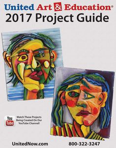 Looking for some new assignment ideas? Check out this Project Guide by United Art & Education - 12 free art projects perfect for the classroom or homeschool art lesson! #teachingart #projectideas #inspiration