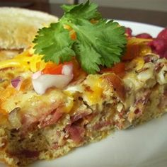 "Super Easy Egg Casserole | ""Winner! Winner! I have tried so many breakfast casseroles that I was beginning to believe that I would never find one that I really liked."""