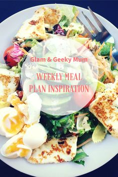 Looking for meal plan inspiration?  Check out what we're having this week!  http://glamandgeekymum.com/weekly-meal-plan-21st-april-2018