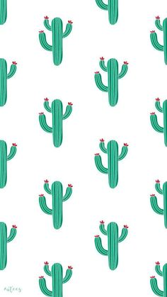 Hintergrundbilder ♡ Cactus Wallpaper Design I Made by University Tees Design Team - Iphone Wallpaper Vsco, Cute Wallpaper For Phone, Summer Wallpaper, Iphone Background Wallpaper, Kawaii Wallpaper, Pastel Wallpaper, Aesthetic Iphone Wallpaper, Disney Wallpaper, Cool Wallpaper