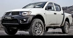 The New 2011 Mitsubishi Strada Triton HD-X Double Cabin