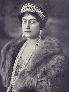 Antonia of Luxembourg,the wife of Prince Rupprecht, the last Crown Prince of Bavaria.
