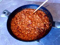 Csicseriborsós tonhalas rizs - Mizu velem... Chili, Soup, Lunch, Chile, Eat Lunch, Soups, Chilis, Lunches