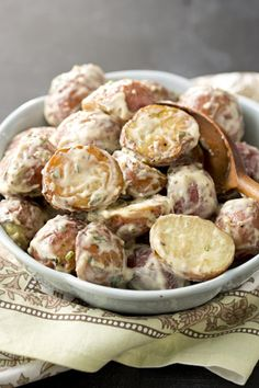 Paula Deen Ultimate Creamy Potato Salad - would be good with my New Potatoes from the garden
