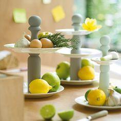 Des quilles transformées en serviteurs / skittles, tray, diversion, upcycling, decoration set,