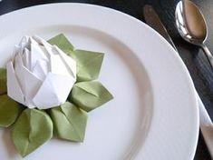 Schon Kreative Bastelideen Papierservietten Falten Anleitung Tischdeko