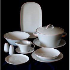 Jídelní souprava pro 6 osob, Thun 1794, karlovarský porcelán, TOM 29965 Sugar Bowl, Bowl Set