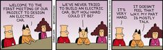 Electric Car Project -  Dilbert Comic Strip on 2016-09-06 | Dilbert by Scott Adams