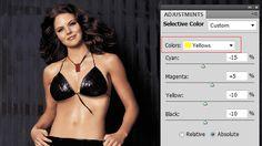 How Selective Color Works « Body Retouching « Tutorials « PSD Box – Original Photoshop Tutorials