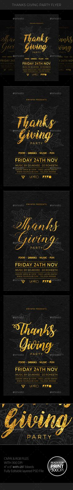 Thanksgiving Flyer  — PSD Template #inspiration #thanksgiving #thanksgiving bash • Download ➝ https://graphicriver.net/item/thanksgiving-flyer/18627906?ref=pxcr