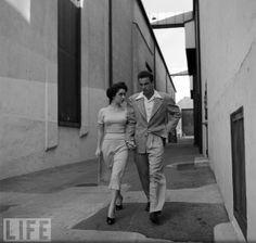 Elizabeth Taylor e Montgomery Clift