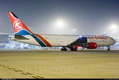Kenya Airways - Boeing 767-3P6(ER) 5Y-KYX 24484 Delhi Indira Gandhi Int'l Airport - VIDP