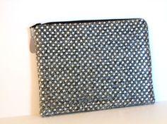 Silver Clutch Wedding Purse Evening Bag by SunlitSerenade on Etsy