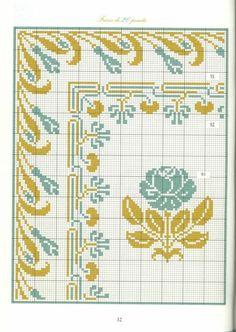 Borders in cross stitch 19