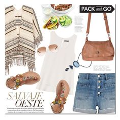 """""""Pack and Go: Mexico City"""" by mada-malureanu ❤ liked on Polyvore featuring Maje, Madewell, Theory, NOVICA, Laidback London, Yves Saint Laurent and Packandgo"""