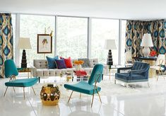 Jonathan Adler Living Room certainly not walk out models. Jonathan Adler Living Room could be furnished in a number of techni Winter Living Room, Chic Living Room, Living Room Modern, Living Room Designs, Living Room Decor, Living Spaces, Living Rooms, Luxury Furniture, Modern Furniture