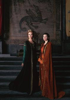 Morgaine and Morgause - The Mists of Avalon // The Mists of Avalon (TV Mini-Series 2001)