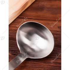 Cooking Tool Stainless Steel Soup Spoon - SILVER
