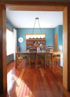 Image result for oak trim house
