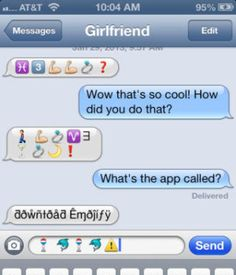 A game to play with your girlfriend over texting