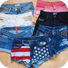Cute Jean Shorts