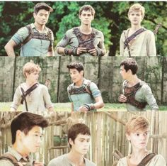 Day 14- 30 Day Maze Runner Challenge- My favorite glader aside from Thomas- I couldn't decide between Newt and Minho so I put both