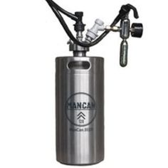 A small keg to keep your beer cold and carbonated while remaining portable