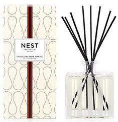 NEST Fragrances Reed Diffuser- Vanilla Orchid & Almond , 5.9 fl oz