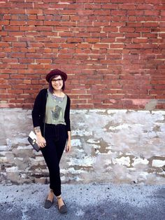 Gawly Gee #OOTD #ModCloth #purplehair #girlswithglasses
