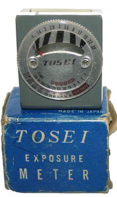 Tosei Exposure Light Meter Very Rare Vintage Item As Brand New and Boxed
