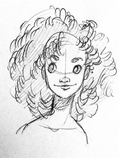 Yenthe Joline Art O Been Practicing Drawing Curly Hair