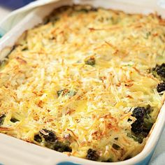 Broccoli, Beef & Potato Hotdish Recipe - EatingWell.com