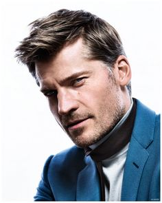 Game of Thrones actor Nikolaj Coster-Waldau captured by the lens of Richard Ramos and styled by Alberto Moreno, for the February 2015 coverstory of GQ España. Moustaches, Gq, Cover Shoot, Cersei And Jaime, Game Of Throne Actors, Nikolaj Coster Waldau, Jaime Lannister, Handsome Actors, Actors & Actresses