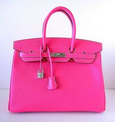 Hermes Rose Tyrien & Rubis Epsom 35cm Birkin Bag Candy Series Limited Edition