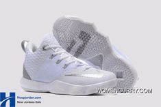 2017 April New Arrival Nike LeBron Ambassador 9 IX Triple White Metallic Silver Cheap - Click Image to Close New Adidas Running Shoes, Nike Shoes 2017, Discount Nike Shoes, Nike Shoes For Sale, Nike Lebron, Nike Air Huarache, Lebron James, Nike Factory Outlet, Nike Outlet