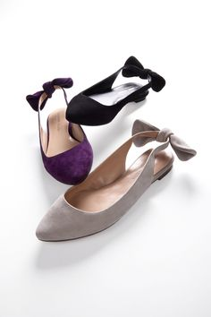 Flats with a bow