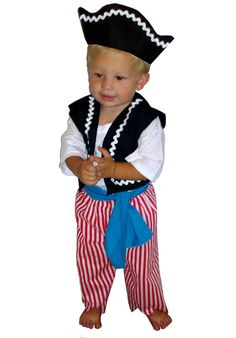 Pirate Boy Infant & Toddler Costume @Lori Bearden Bearden Rees  Cute Baby Halloween Costumes