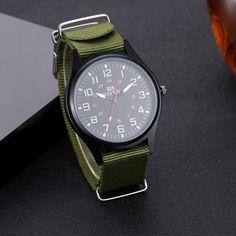 SOXY Fashion Fabric Band Sport Watch Men Watch Military Watches Quartz Watch Hour montre homme relogio masculino reloj hombre