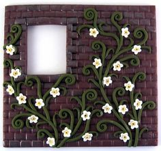 Google Image Result for http://static.artfire.com/uploads/product/0/290/84290/3684290/3684290/large/polymer_clay_relief_sculpture_brick_wall_vines_white_flowers_ooak_de9a6f75.jpg