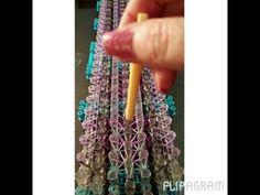 Rainbow Loom Bands Silver Lion Bracelet - YouTube