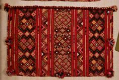Cretan textile Deep Autumn Color Palette, Textile Jewelry, Jewellery, Yarn Projects, Fabric Art, Folk Art, Hand Weaving, Textiles, Embroidery