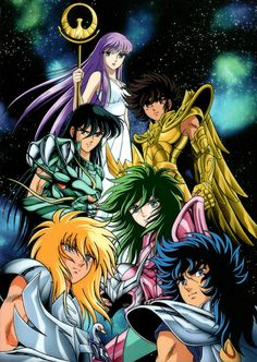 Saint Seiya - I Cavalieri dello Zodiaco (1986 - 1990.it) http://en.wikipedia.org/wiki/List_of_Saint_Seiya_episodes