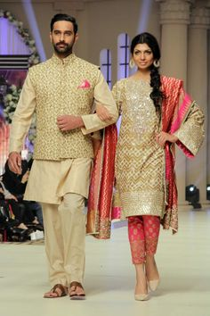 Faraz Manan Bridal Collection at Telenor Bridal Couture Week 2014