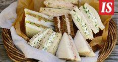 Sandwich Cake, Sandwiches, Finnish Recipes, Kitchen Time, Yams, Food Hacks, Feta, Cooking Tips, Nom Nom