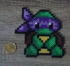 Teenage Mutant Ninja Turtle Perler Beads par GeekyMania sur Etsy