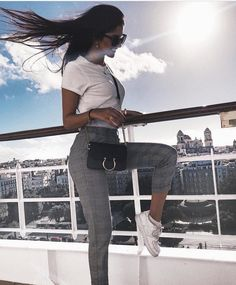 Spring Outfits ideas for summer fashion 2019 Fashion Mode, Cute Fashion, Womens Fashion, 90s Fashion, Girl Fashion, Autumn Fashion, Mode Outfits, Trendy Outfits, Fashion Outfits