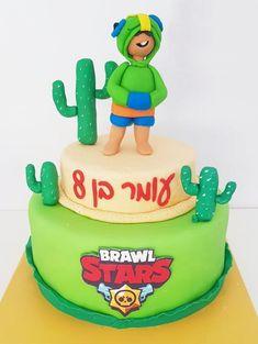 עוגת בראול סטארס מבצק סוכר - fondant Brawl Starts cake - דנהל'ה | Cake Facotry Easy Carrot Cake, Pretty Birthday Cakes, Balloon Cake, Star Cakes, Cake Factory, Character Cakes, Star Party, Drip Cakes, Cream Cake