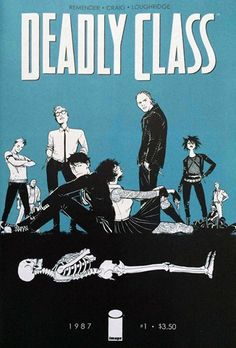 Comic Review: Deadly Class #1 (Image Comics) | Therapy in comics